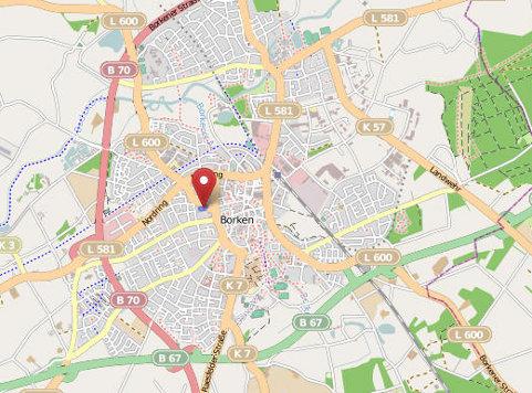 VR Retail Processing GmbH - Anfahrt und Standort - Daten von OpenStreetMap - Veröffentlicht unter CC-BY-SA 2.0